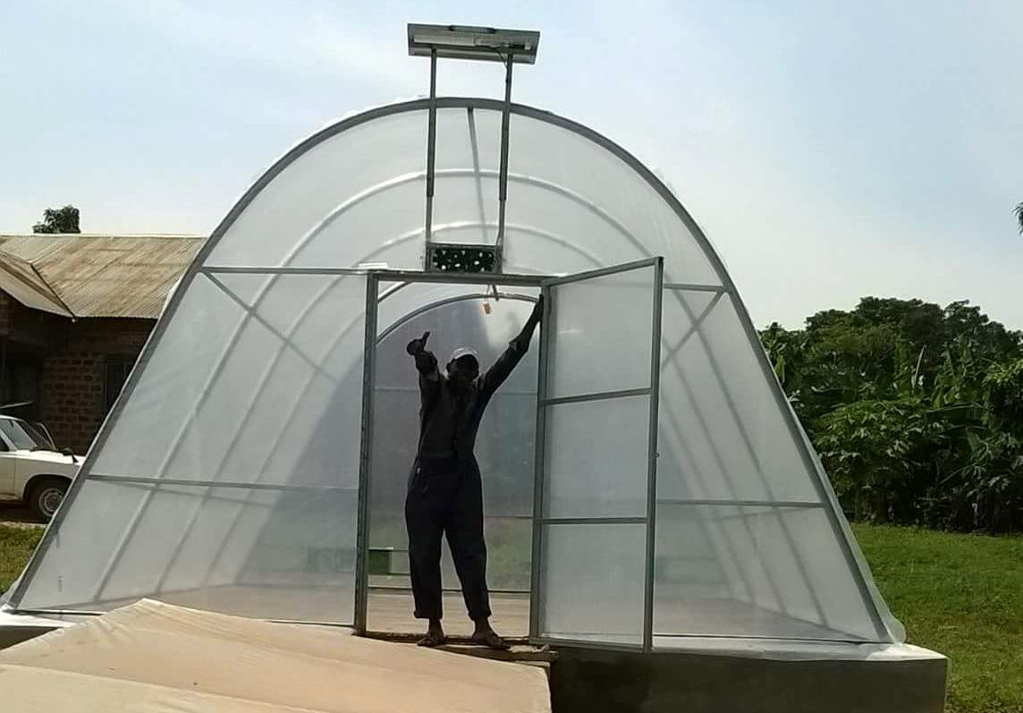 Solar dryers piloted by Fullwell Transform, Makerere University and Fruits of the Nile in Uganda start to be replicated across the country